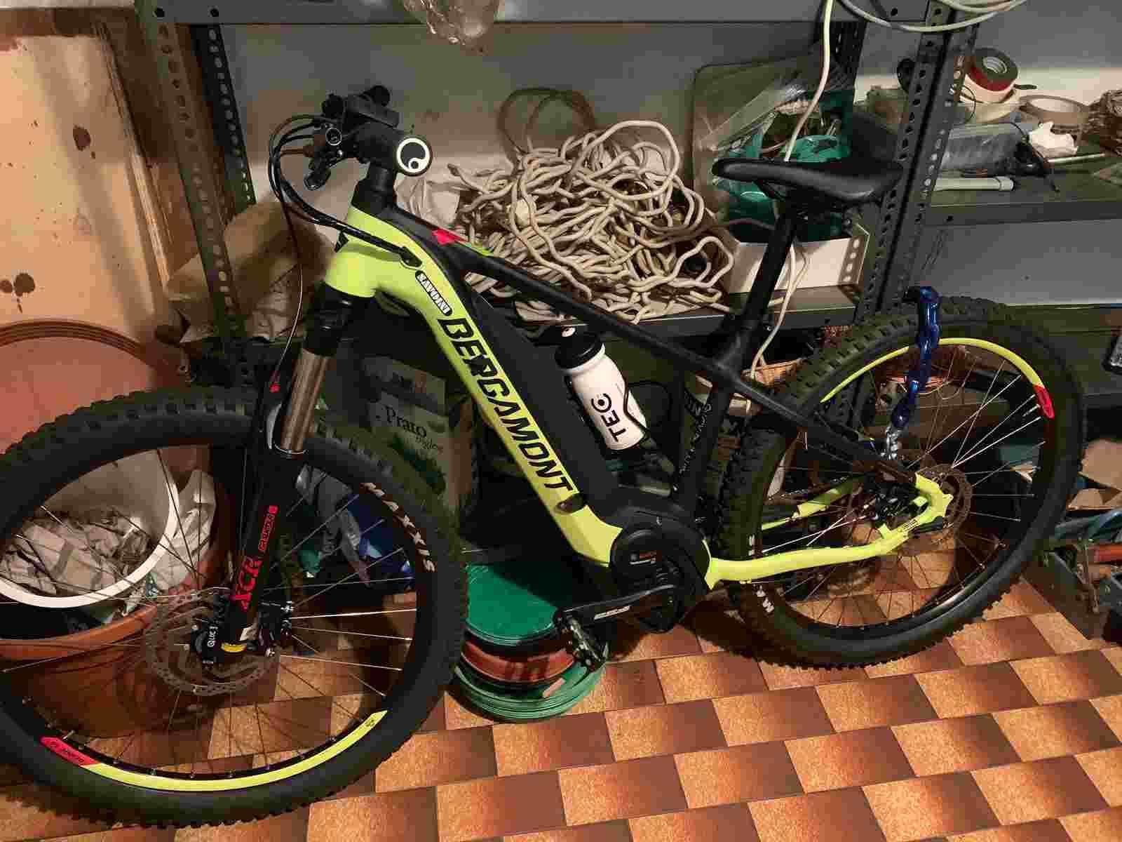 Mountain bike E-mtb Bergamont E-Revox 5 27 nuova